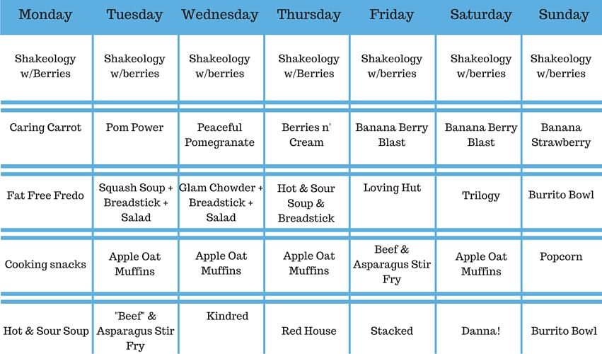 Meal Plan Week of 1-18 (1)