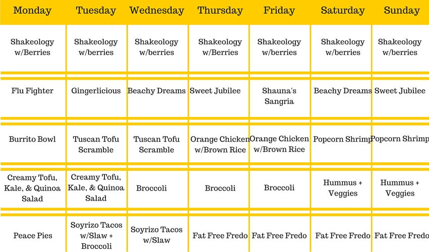 Meal Plan week of 1-11 (1)