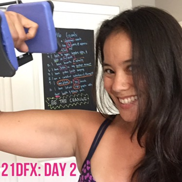 21 day fix extreme day 2: upper fix extreme