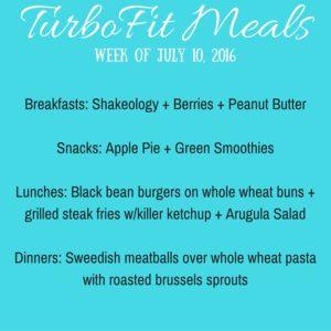 TurboFit Meals