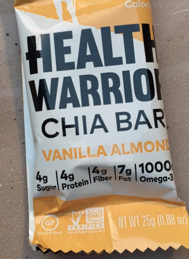 Fun Size Snickers vs Healthy Warrior Chia Bar